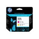 Cap Imprimare HP 771 (CE018A) ORIGINAL, Magenta/Galben