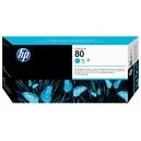 Cap Imprimare HP 80 (C4821A) ORIGINAL, Cian
