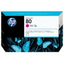 Cartus HP 80 (C4847A) ORIGINAL, Magenta, capacitate mare