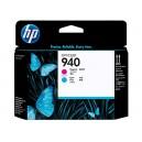 Cap Imprimare HP 940 (C4901A) ORIGINAL, Cian/Magenta