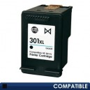 Cartus HP 301XL (CH563EE) Compatibil, Negru, capacitate mare