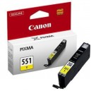 Cartus Canon CLI-551Y yellow ORIGINAL