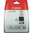 Multipack 4 Cartuse Canon CLI-551 C/M/Y/BK ORIGINALE