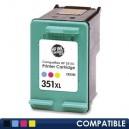 Cartus HP 351XL (CB338EE) Compatibil, Color, capacitate mare