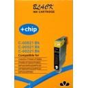 Cartus Canon CLI-521BK black compatibil, cip inclus
