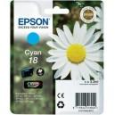 Cartus Epson 18, T1802 cyan, ORIGINAL