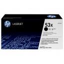 Toner HP Q7553X (53X) negru, ORIGINAL